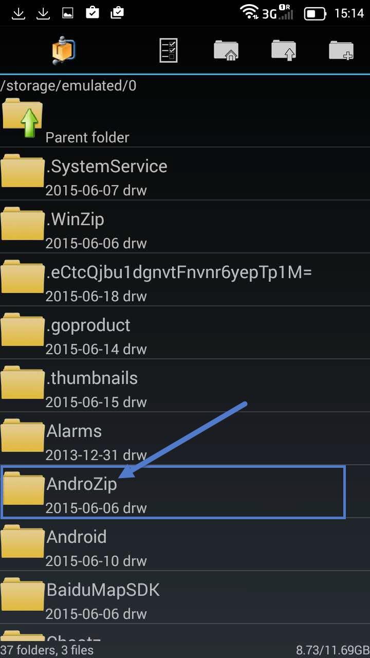Installation Openvpn Android step 5