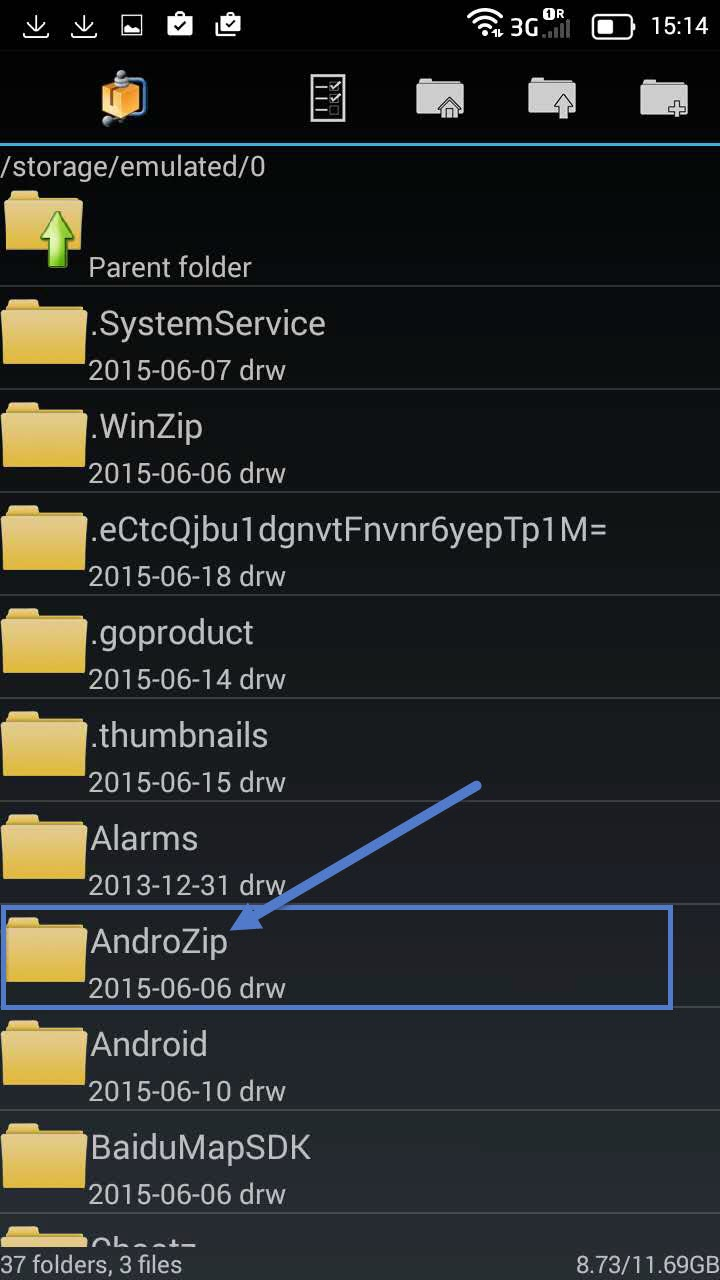 Installation Openvpn Android step 5