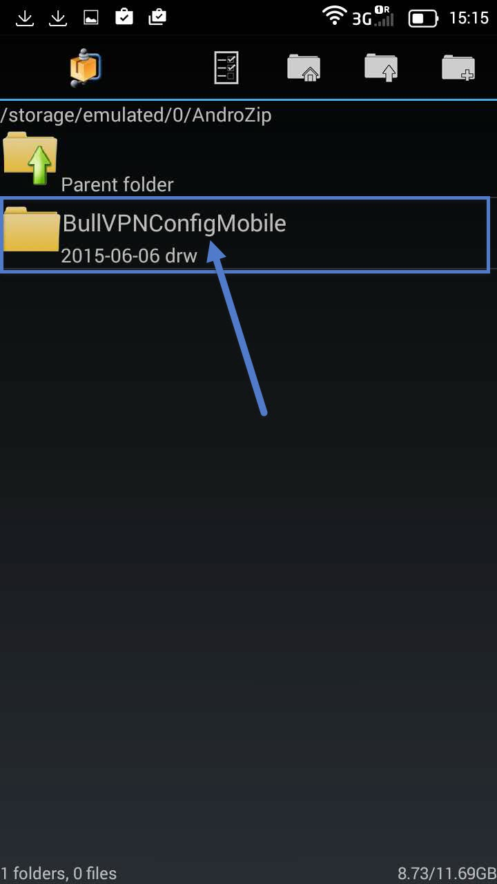 Installation Openvpn Android step 6