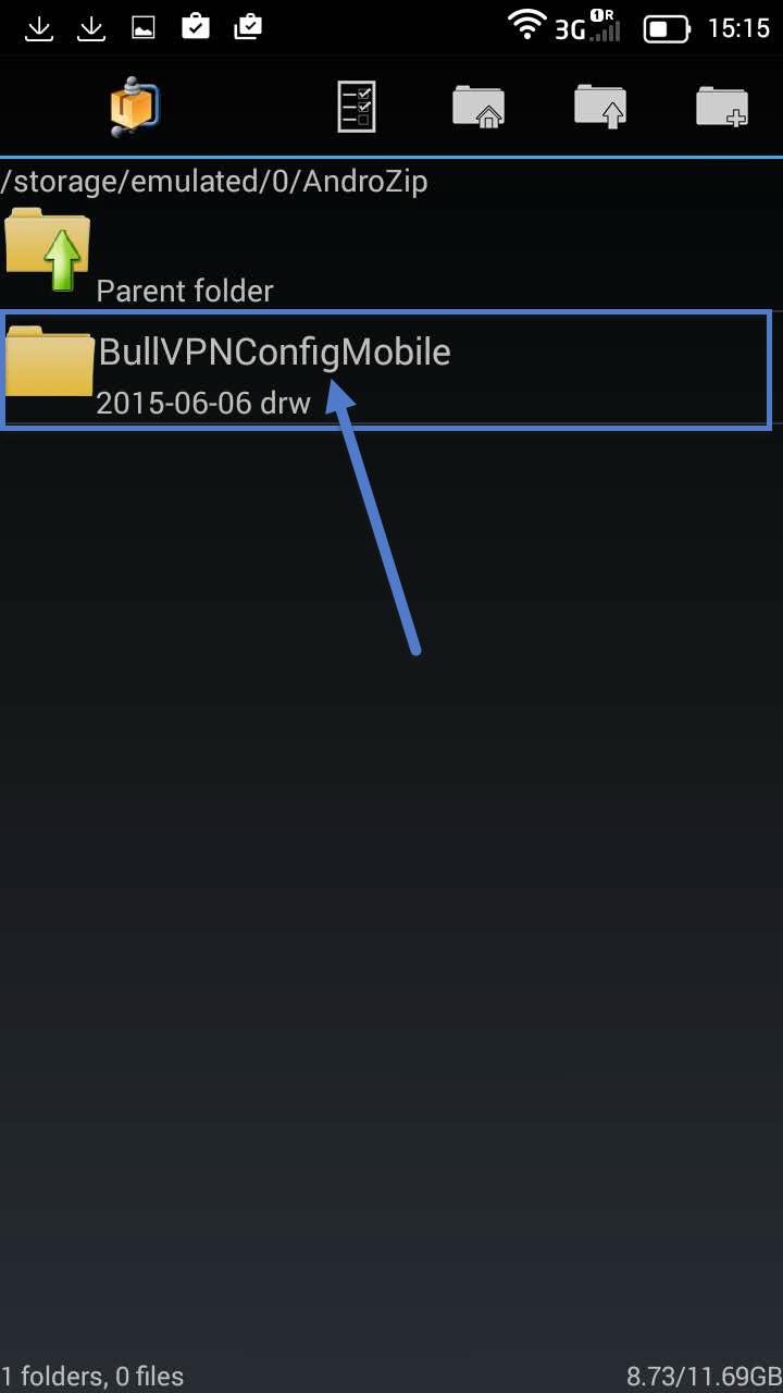 ขั้นตอนติดตั้ง Openvpn Android ขั้นตอนที่ 6