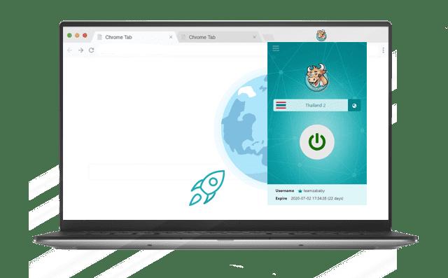 Bull VPN สำหรับ Chrome
