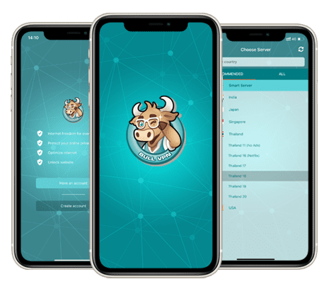 Bull VPN for iOS