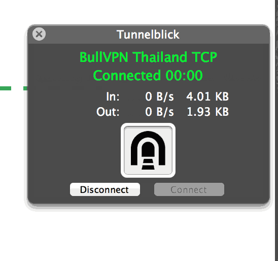 Installation Tunnelblick Mac os X Step 14