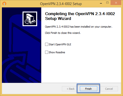 ขั้นตอนการติดตั้งโปรแกรม OpenVPN Installer ขั้นตอนที่ 7