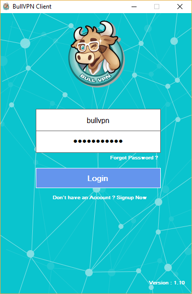How to Setup BullVPN Client Step 5