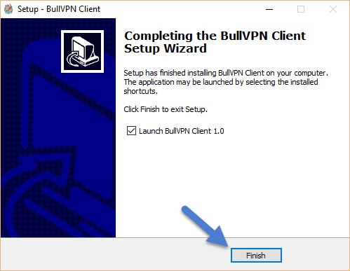 How to Setup BullVPN Client Step 4