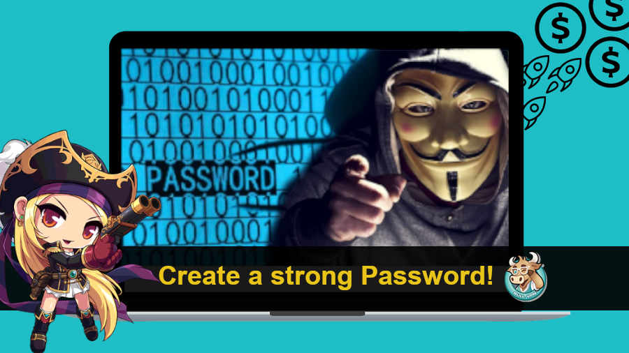 ็How to create a strong password
