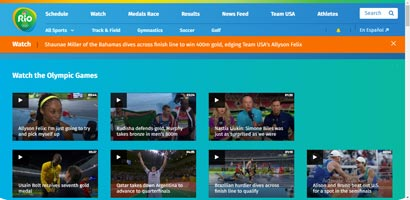 Watch The Rio 2016 Olympics Online